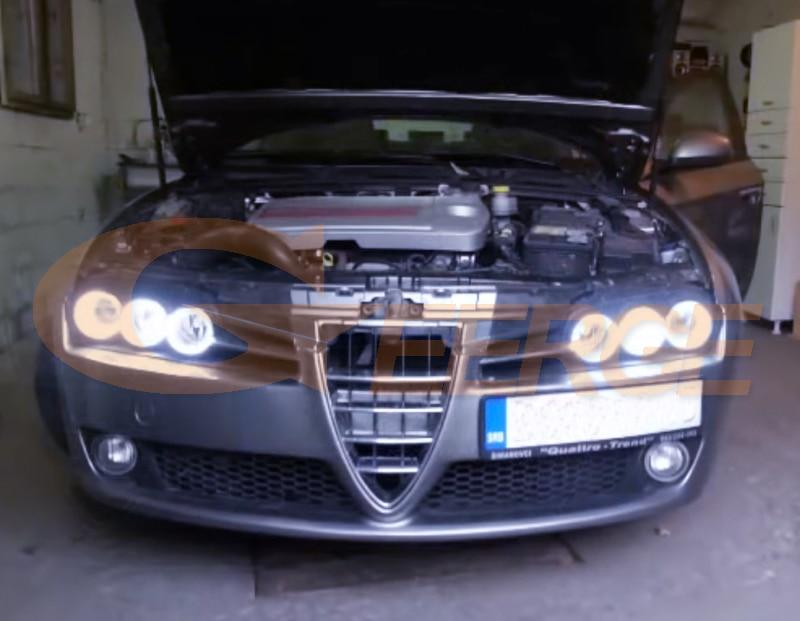Alfa Romeo 159 cob led angel eyes kit(9)