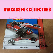Toy cars Hot Wheels 1:64 Honda Racer Car Models Metal Diecast Cars Collection Kids Toys Vehicle For Children Juguetes 75(China)
