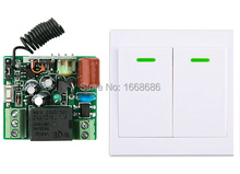 New digital Remote Control Switch AC220V Receiver +Wall Transmitter Wireless Power Switch 315MHZ Radio Controlled Switch Relay