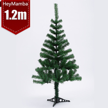 1 Pcs Artificial Desktop Christmas Tree Christmas Party Decoration Supplies 120cm Dark Green Spruce Xmas Tree For New Year(China)