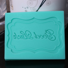 Good Luck Silicone Cake Mold,Cookie Stencil, Baking Tool for Cakes Set, Christmas Decoration Supplies, Celebration Stencil