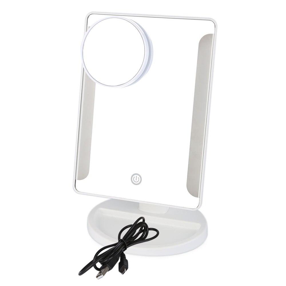 Самый Популярный Макияж Зеркала 36 LED USB Power Портативный Пластиковая Рамка Зеркала Складывающиеся Туалет Зеркало С Подсветкой Для Макияжа с Л...(China)