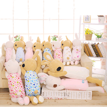 70cm Cute Bunny Baby Soft Plush Pillow Toys Sleeping Rabbit Stuffed Animals Toys Baby Cushion Obedient Sleeping Rabbit Doll