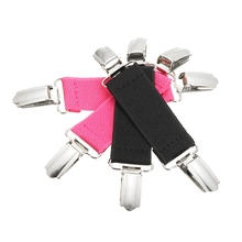 1Pcs Metal Dress Cinch Pants Clip Garment Cincher Waistband Extender Clothes Accessory Multifunction for Fixed Bed Sheet Sofa