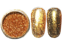 2.5g/pot, 0.2MM 008 Size Metallic Glitters Dusts Acrylic Dazzling Glitters Powders For Nail Art Tips Decorations#NG02010(China)