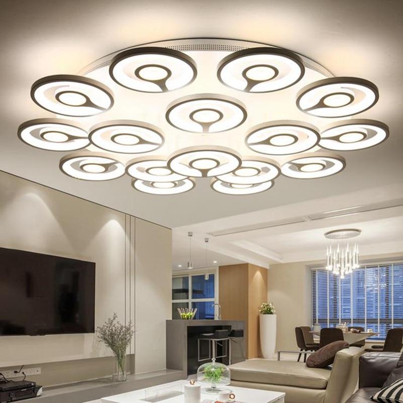 Plafoniere Moderne Per Soggiorno. Awesome Immagine Per Luxury Diam ...