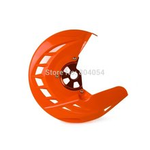 Motorcycle X-Brake Front Brake Disc Cover w/ Mounting For KTM 125-530 EXC/EXC-F 2003-2015(China)