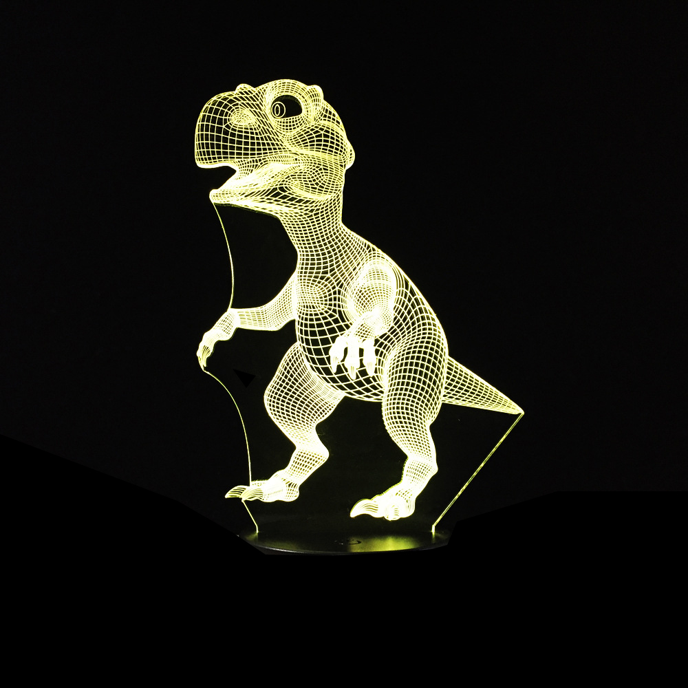 Dinosaur 3D LED Lamp 5