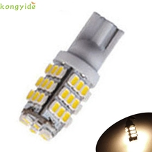 New T10/921/194 Warm White RV Trailer 42-SMD 12V Backup Reverse LED Lights Bulbs car accessories(China)
