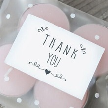 "42pcs/1sheet  ""Thank You"" Gift Seal Label Sticker For Party Favor Gift Bag Candy Box Decorate"