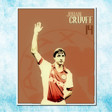 Johan Cruyff Football Legend Art Silk Canbvas Poster 13x18 24x32inch Netherlands Soccer Star Pictures for Room Decor(more)-4