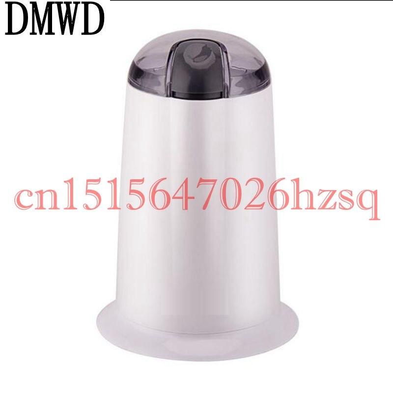 DMWD Multifunctional Household Coffee Grinder Grinding Miller Beans Nuts Baby Food Grinder Mill Stainless steel blade Powder<br>