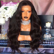 Luffy 5x4.5 Silk Base Full Lace Wig Human Hair Malaysian Glueless Silk Top Full Lace Front Wigs With Baby Hair For Black Women