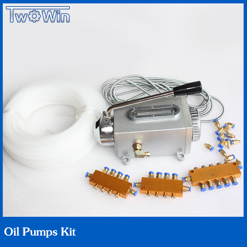 oil pump kit hydraulic pump 1pcs oil pump + 1set Oil passage  for Engraving machine<br><br>Aliexpress