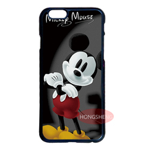 Mickey Mouse Cover Case for LG G3 G4 G5 iPhone 4 4S 5 5S 5C 6 6S 7 Plus iPod 5 Samsung S3 S4 S5 Mini S6 S7 Edge Plus Note 3 4 5
