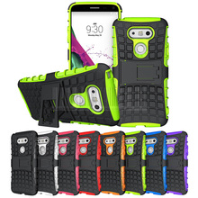 Buy Shockproof Impact Stand Hybrid Armor Case Hard Protective Cover LG G5/G5 SE H830 H840 H845 H850 VS987 LS992 for $1.69 in AliExpress store