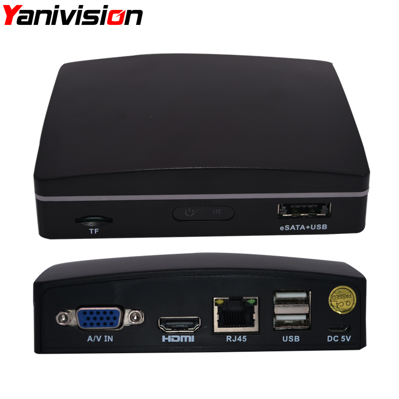Mini NVR Full HD 4 Channel 8 Channel Security CCTV NVR 1080P 4CH 8CH ONVIF 2.0 For IP Camera System 1080P TF card P2P CCTV NVR<br>