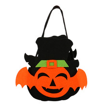 2017 New Arrival Halloween Bat Style Candy Bag Gift Bag Bagkin Bag Candy Storage Bag Halloween Best Gift For Chilidren(China)
