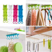 Hot Selling Kitchen Utensils Rack Holder Hook Ceiling Wall Cabinet Hanging Storage Organizer jun23(China)