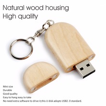 LEIZHAN Wooden USB Flash Drive 32G Pendrive High Speed 64G USB Stick 16G Pen Drive Flash Drive 8G 4G Customized Logo USB Gift