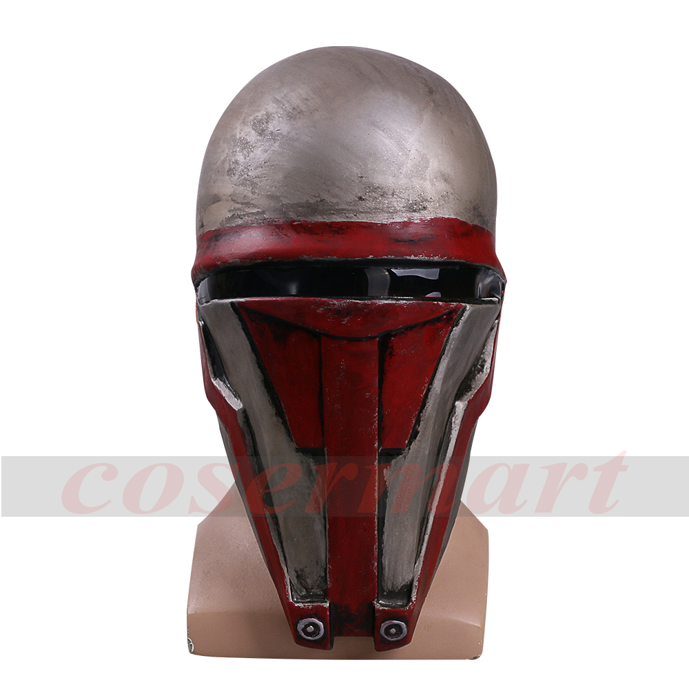 Movie Star Wars Knights of the Old Republic Darth Revan Mask Cosplay Helmet Masks Adult Latex Halloween Party Prop (4) -