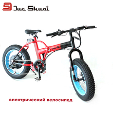 Bici Electrica Js 2*4.0 Electric Bike Folding Fat Tire Bicycle 36v 10ah Lithium Battery 1000w Motor Motorcycle Brand Scooter