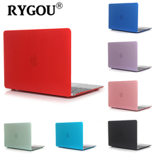 Rygou for New Macbook 12 Case, Ultra Thin Transparent Clear Hard Cover Shell for Mac Book Retina 12 inch A1534 Model Laptop Case(China)