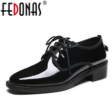 Buy FEDONAS Fashion Women Genuine Leather Shoes Round Toe Gladitor Low Heels Comfort Pumps Women Four Seasons Ladies Shoes Woman for $48.88 in AliExpress store