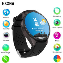 Kingwear kw88 android 5.1 the smart electronic watch android 1.39 inch mtk6580 smartwatch phone support 3g wifi nano sim wcdma(China)