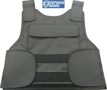 Black Bulletproof Vest NIJ IIIA/Aramid ballistic vest(China)
