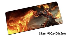 Brand mouse pad 900x400x2mm pad mouse lol notbook computer mousepad Burning Vengeance gaming padmouse gamer keyboard mouse mats