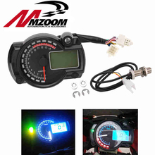 2016 New 15000rpm Modern RX2N Similar LCD Digital Motorcycle Odometer Speedometer Adjustable MAX 299KM/H Hot Selling(China)
