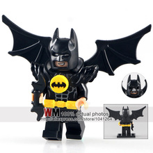 WM Single Sale PG181 Swim Batman with Wing DC Super Heroes Building Blocks Movies Toys for Children PG8047