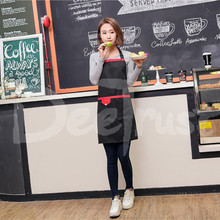 2017 Polyester Apron Solid Color Detachable Antifouling Sleeveless Unisex Aprons for Woman Men Kitchen Chef Cooking avental