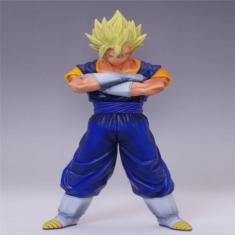 HOT Sell Dragon Ball Z Vegeta and Goku Combine 20cm Super Saiyan 1/9 Scale Painted Action Figure PVC Model for Christmas Gifts<br><br>Aliexpress
