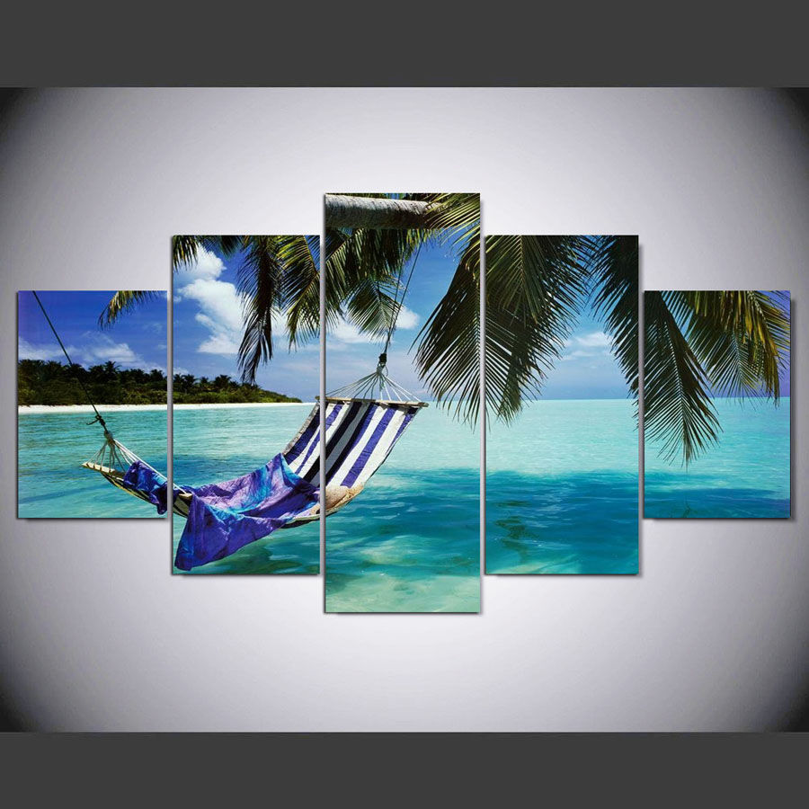 5-Pieces-canvas-art-the-Beautiful-sea-view-scenery-landscape-modular-picture-canvas-painting-for-living (2)
