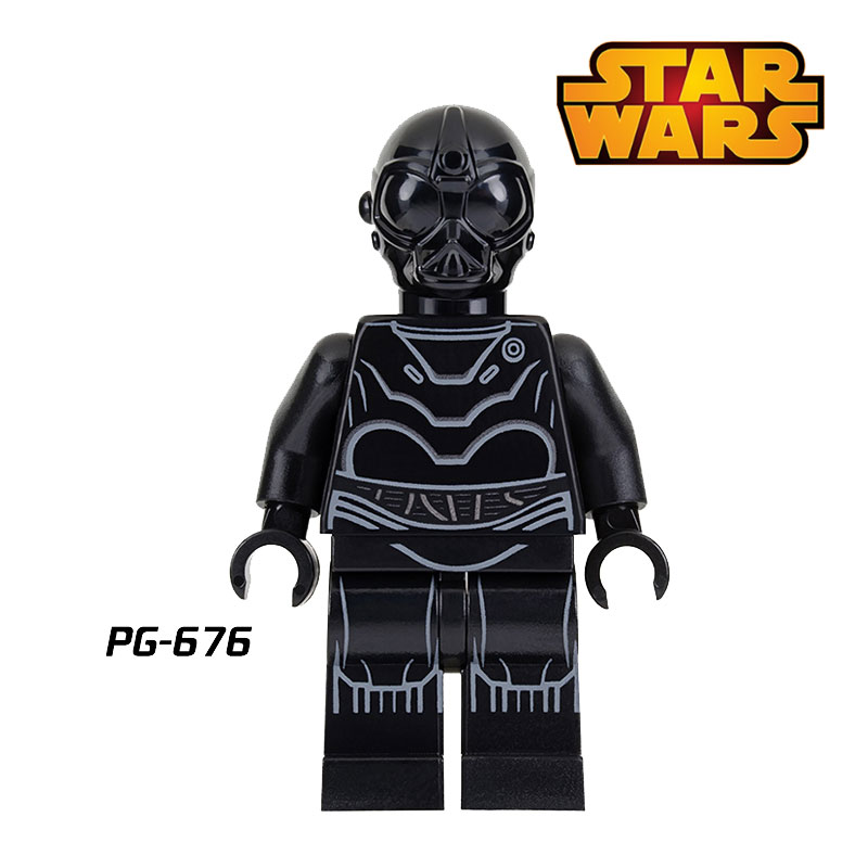 1PC Death Star Robot Minifigures Star Wars Obi Wan Kenobi Qui-Gon Jinn Jedi Knight Assemble Building Blocks Kid DIY Toys Xmas<br><br>Aliexpress