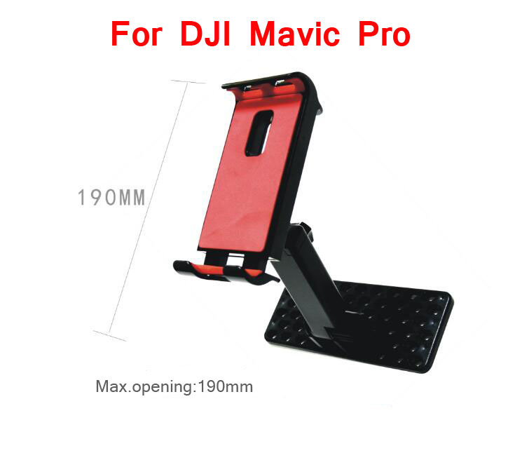 Ipad/Pad/Mobile phone/iphone clamp fixing holder bracket mount stent spare parts for DJI Mavic Pro RC Drone remote controller<br><br>Aliexpress