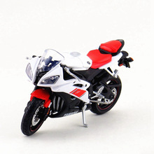Diecast & Alloy Motorcycle Toy, 1:18 Scale Emulation Yamaha YZF-R6 Motorbike Models, Toys For Children, Bringquedos Gifts(China)