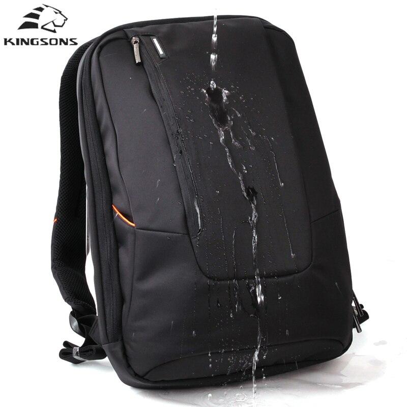 Kingsons Waterproof School Bags USB Charge Men Travel Security College Teenage Male 15inch Laptop Backpack Anti Theft Backpack<br>