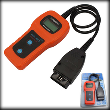 by DHL or EMS 10 pieces U480 Universal OBD OBD2 OBDii CAN-BUS LCD Car Diagnostic Scanner Tools Fault Code Readers(China)