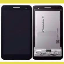For Huawei Honor Play Mediapad T1-701 T1 701W T1-701W Touch Screen Digitizer Glass Sensor + frame LCD Display Panel Assembly(China)