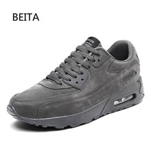 2017 New Newest Running Shoes For Men Breathable Outdoor Sport trainers sneakers Summer Cushioning Male Shockproof Sole Sneakers