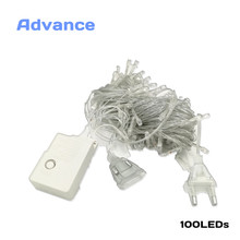 String Light 100 LED 10M Christmas/Xmas/Wedding/Party Decoration AC 110V 220V Lights outdoor Waterproof led lamp 9 Colors Fairy