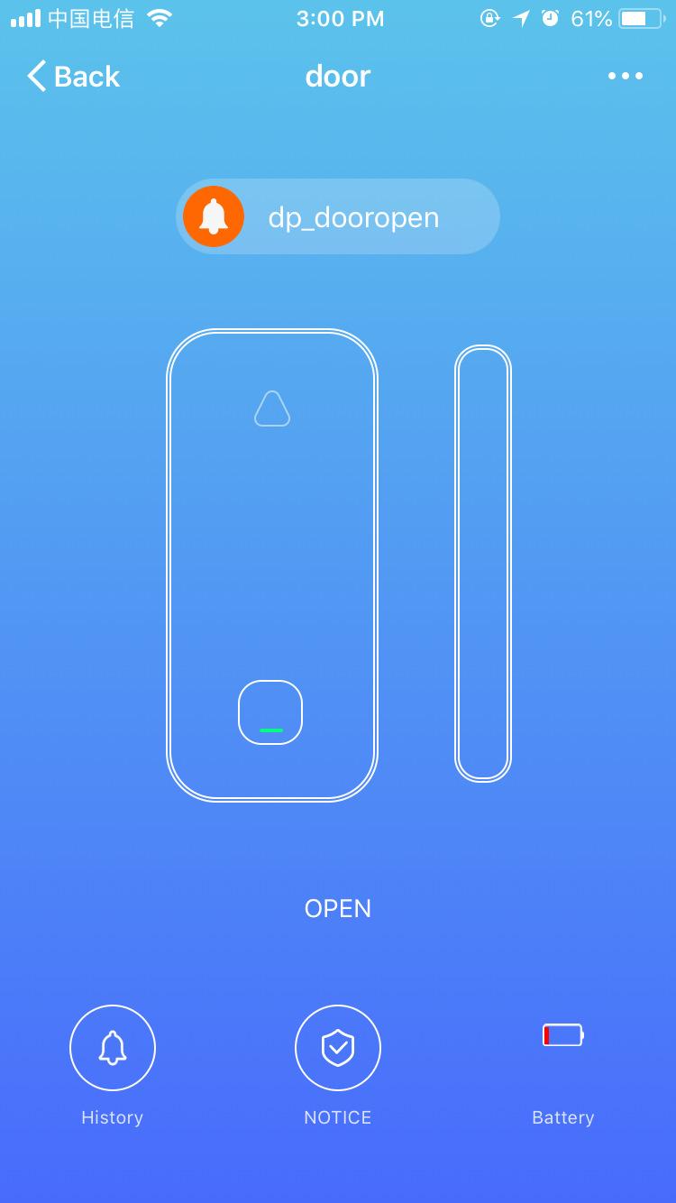 Wifi Door Sensor Window Sensors Alexa Google Home IFTTT Alarm Security Smart Life APP Wireless Remote Control(11)