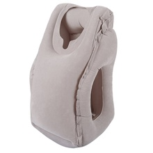 Travel pillow Inflatable pillows soft cushion trip portable innovative products body back support Foldable blow neck pillow