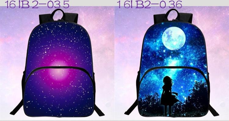حقائب مدرسية / الكون / الفضاء/ 24 لوان للبنات 5