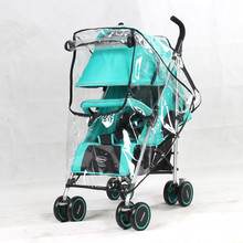 Baby stroller rain cover waterproof umbrella stroller Universal Wind Dust Shield For Strollers Pushchairs stroller accessories