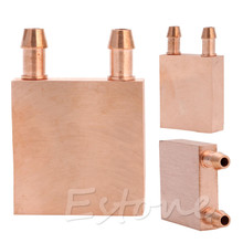 For Graphics CPU GPU Endothermic Head Copper Water Cooling Block CPU PC Computer Single-Sided Polished