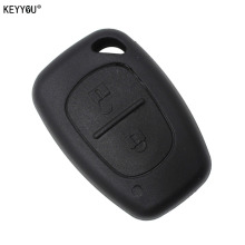 KEYYOU Remote Key Case 2 Button For Renault Opel Vauxhall for Nissan Vivaro Traffic Primastar(China)